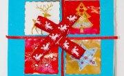 Nagrody za bożonarodzeniowe kartki podzielone
