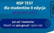 Konkurs NSP Test Student - test wiedzy o Narodowym Spisie Powszechnym 2021 dla studentów szkół wyższych II edycja