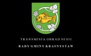 Transmisja obrad XXVIII sesji Rady Gminy Krasnystaw